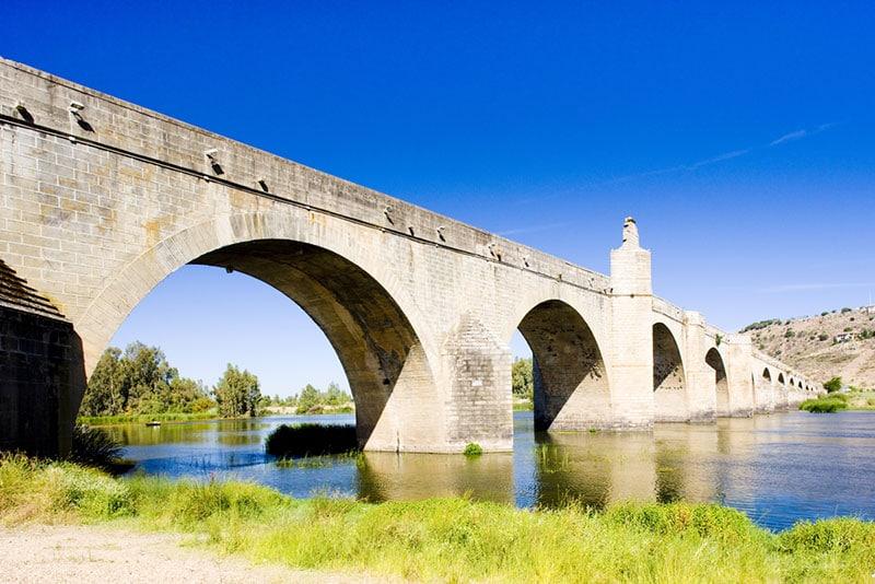 Puente de Medellín en Badajoz
